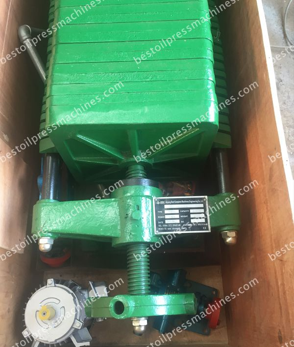 peanut oil filter machine to Cameroon