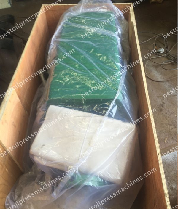 peanut oil filter machine in packing