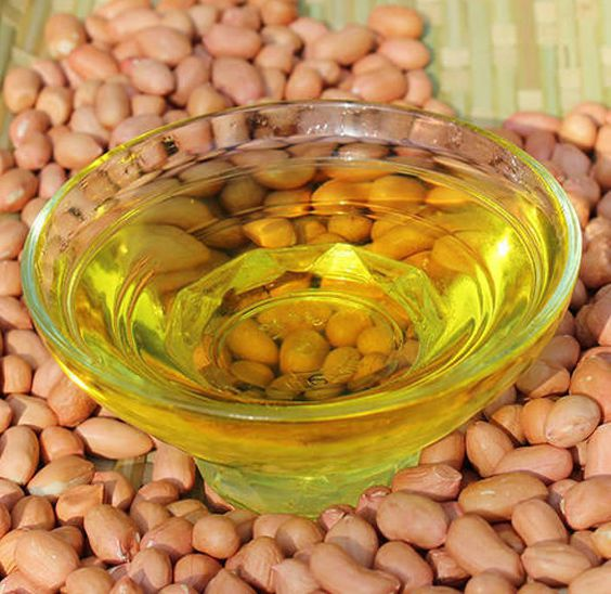 peanut oil production