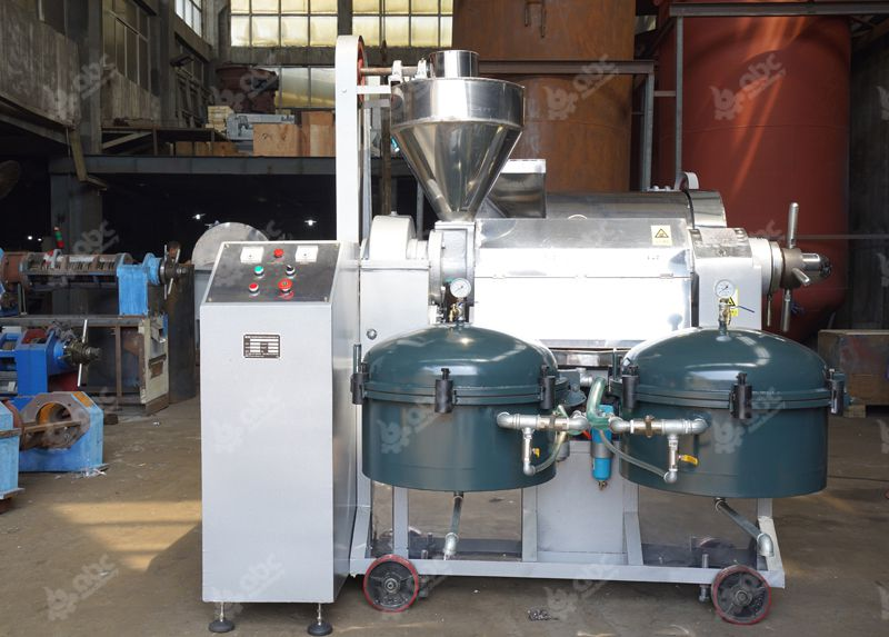 automatic rice bran oil production machine