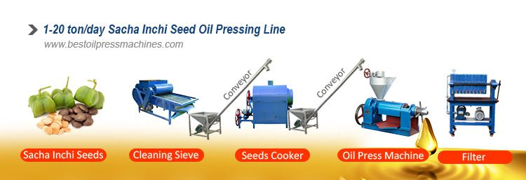 small sacha inchi oil pressing machines
