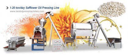 Safflower Oil Processing Plant Layout and Process Design
