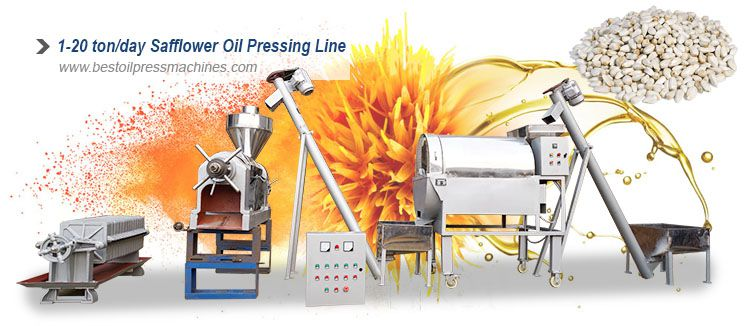 safflower oil processing plant layout design