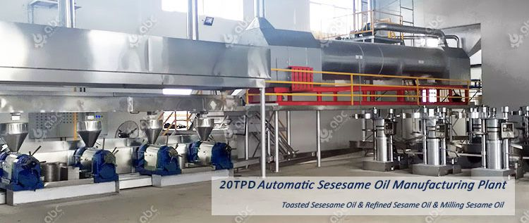 sesame oil processing plant cost