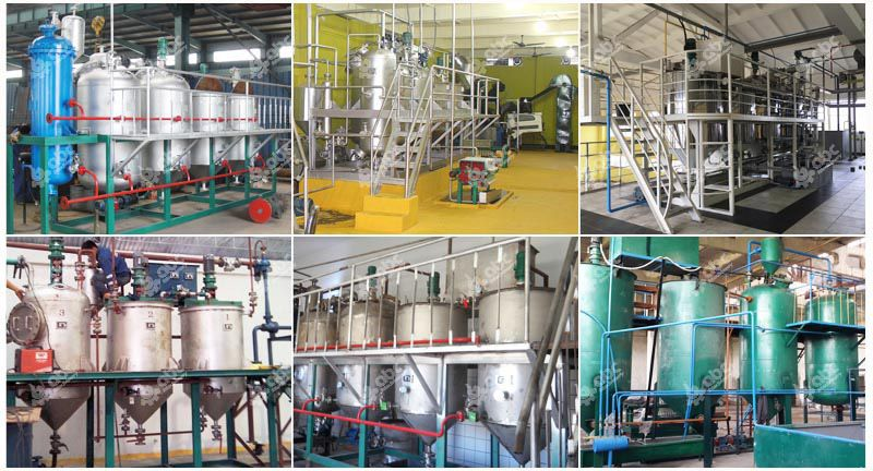 small castor oil refinery machine for sales