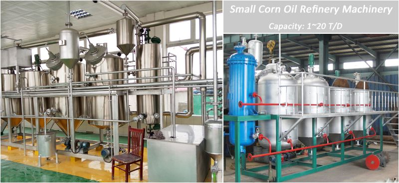 corn oil refinery machinery for sales