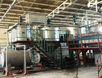 5TPD Fish Oil Refinery Plant in Philippines