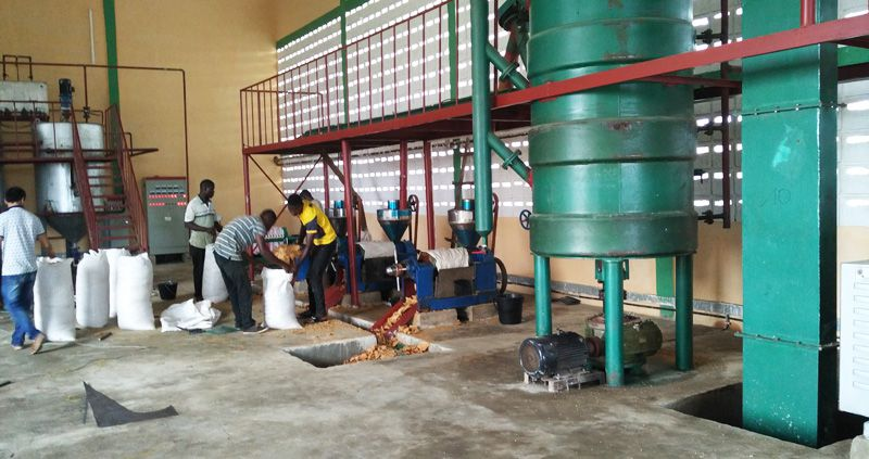 small sunflower oil manufacturing plant