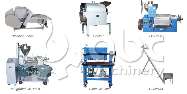small oil pressing equipment at factory price