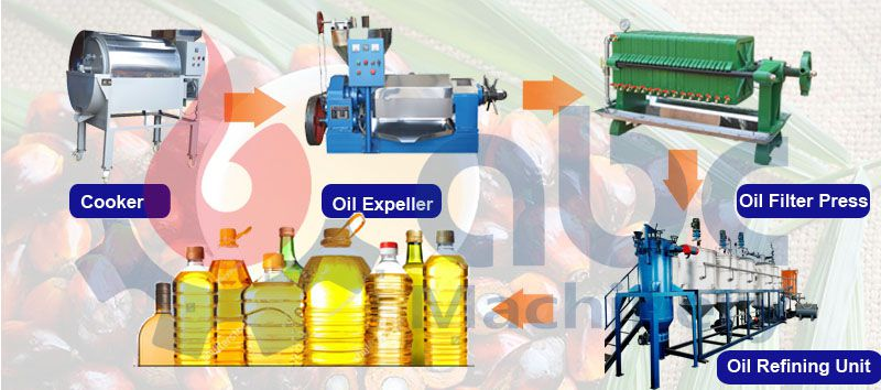 small palm kernel oil production line cost