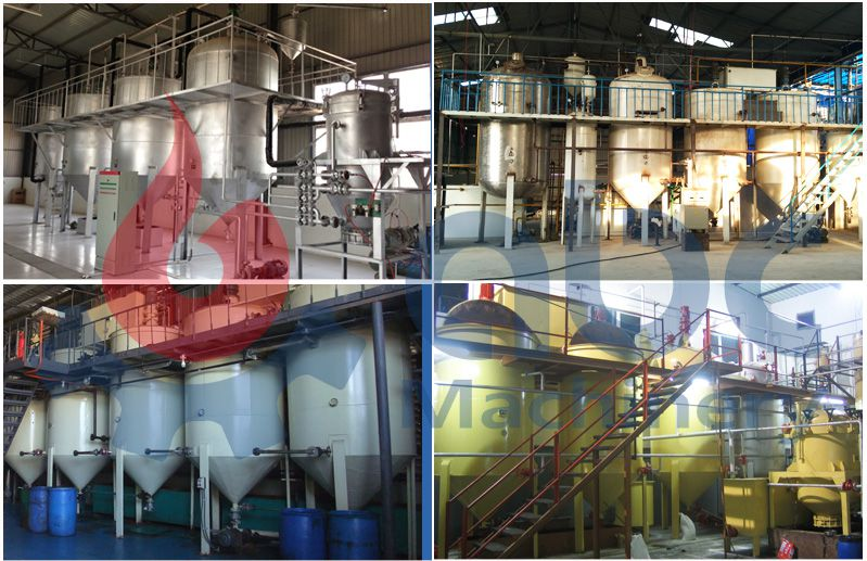 small scale oil refinery plant at factory price