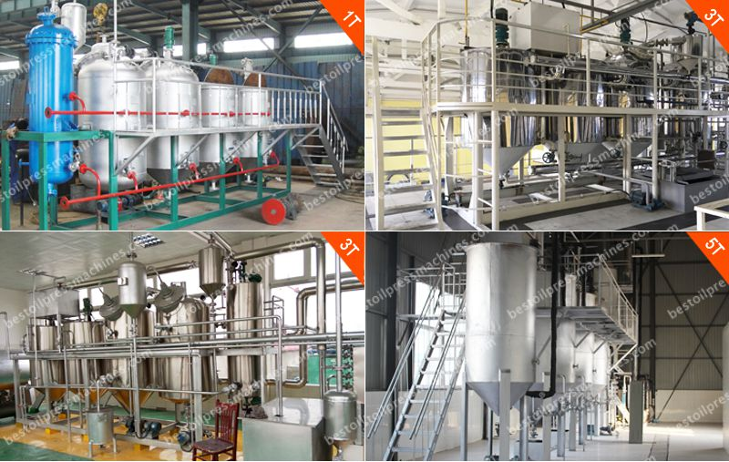 small scale sesame oil refinery plant for sale