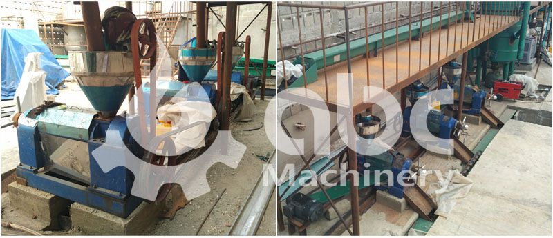 soya oil pressing unit