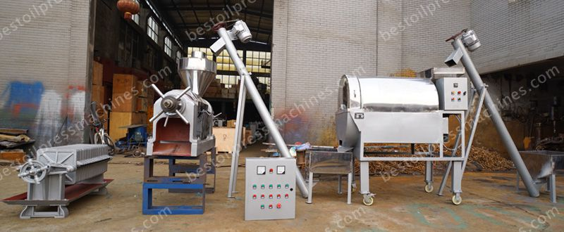 soybean oil filter machine in soybean oil pressing line