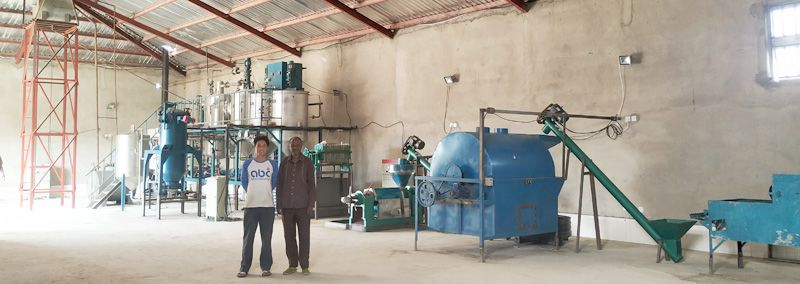 Small Soybean Oil Production Machine & Plant Installed in Nigeria
