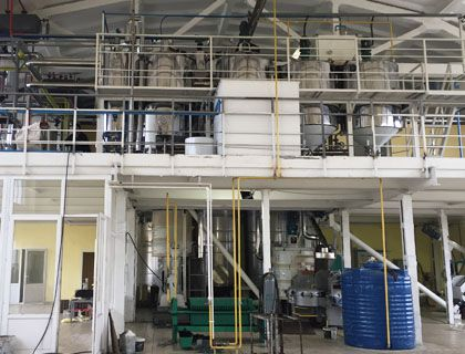10TPD Sunflower Seed Oil Making Plant with 3TPD Oil Refinery Line in Moldova