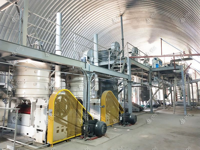 sunflower oil manufacturing factory design