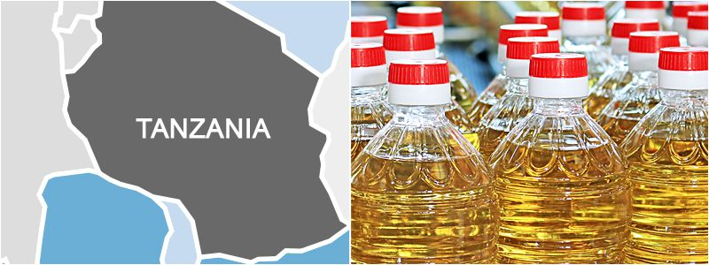 sunflower oil production industry in Tanzania