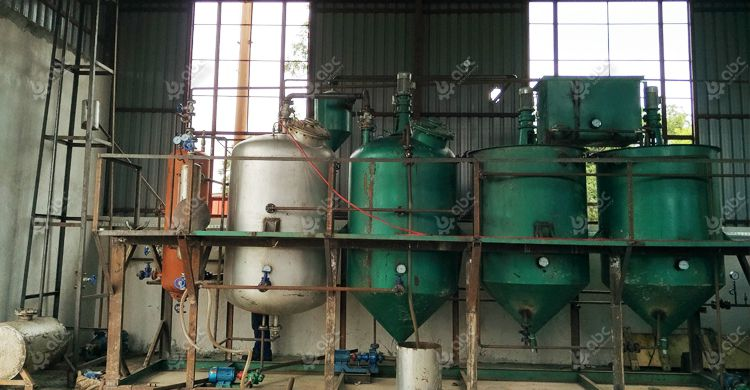 sunflower oil refinery unit at factory prices
