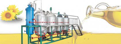 Sunflower Oil Refinery Machines & Sunflower Oil Refining Process