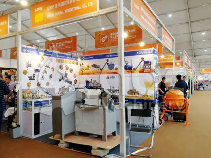 Uzbekistan Client Bought Sunflower Seed Oil Extraction Machine on Canton Fair