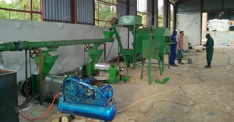 sunflower seed oil pressing line in Uganda