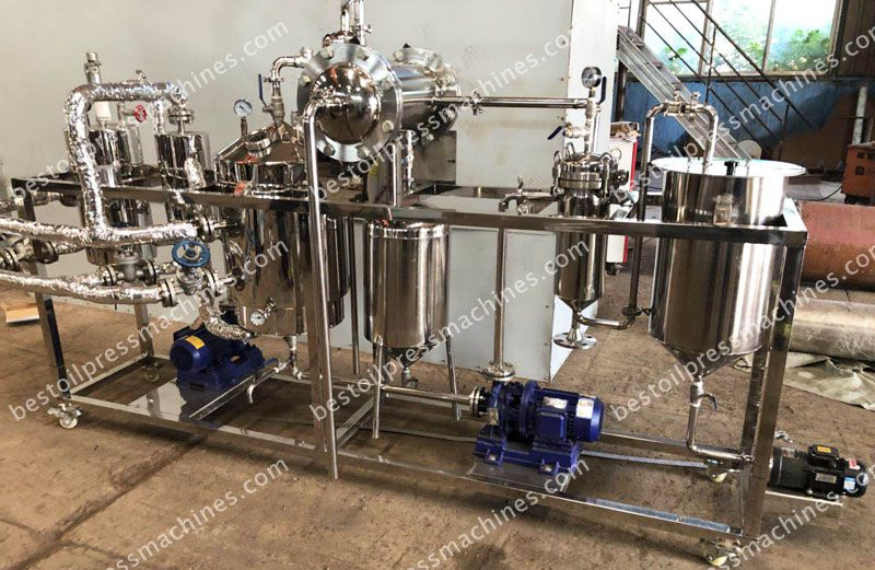 Stainless Steel Vegetable Oil Deodorizer