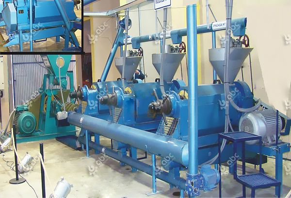 small vegetable oil production line for sale