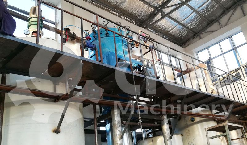 cottonseed oil refinery filter machine