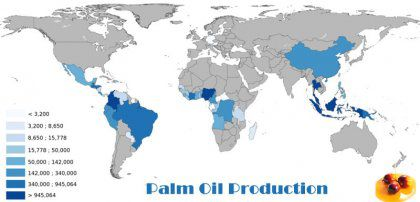 Palm Oil Production Analysis in Africa